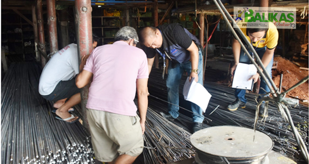 DTI 4-A intensifies monitoring of steel bars in the
